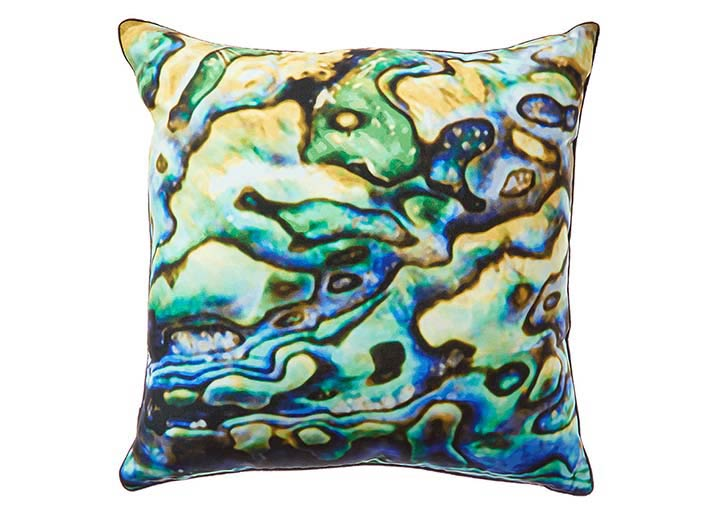 W Scottsdale Green Abalone Pillow