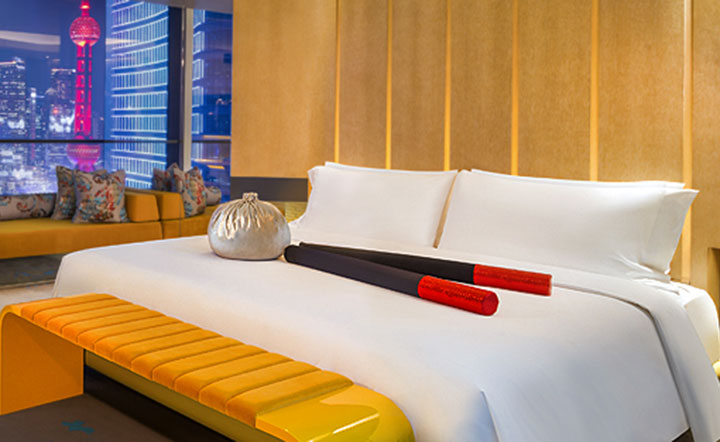 Whotels bed