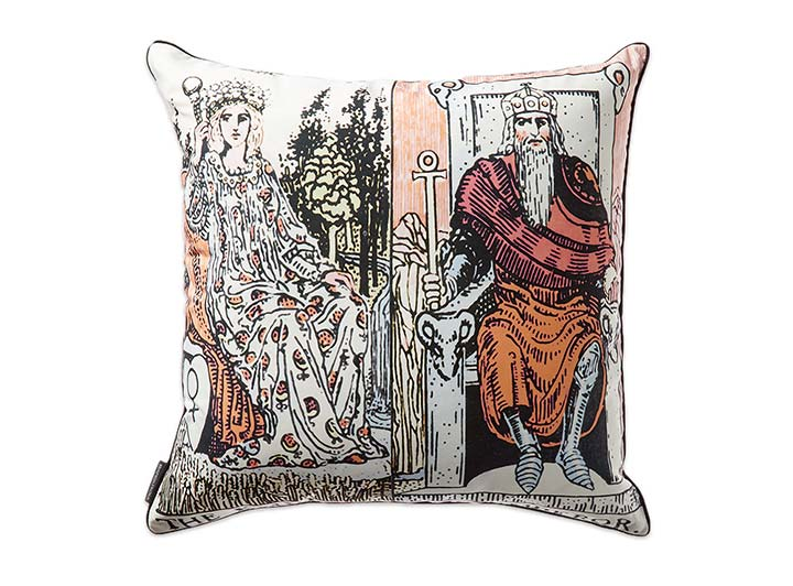W French Quarter Empress Emperor Pillow