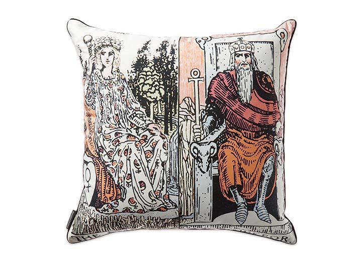 W French Quarter Empress Emperor Pillow