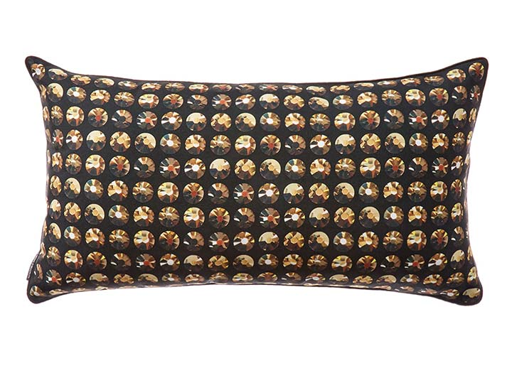 W Hollywood Rhinestone Pillow