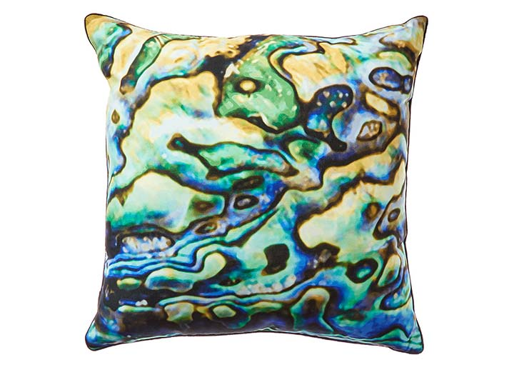 W Scottsdale Green Abalone Pillow