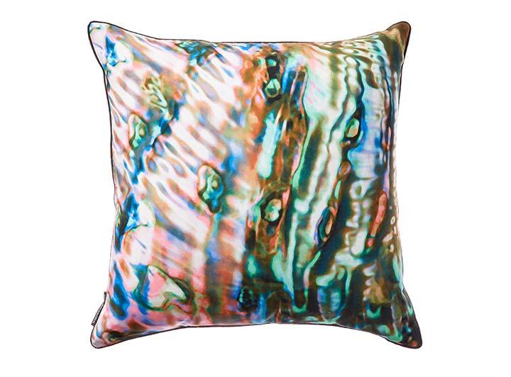 W Scottsdale Pink Abalone Pillow