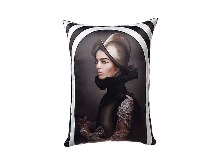 W Mexico City Soldadera Pillow