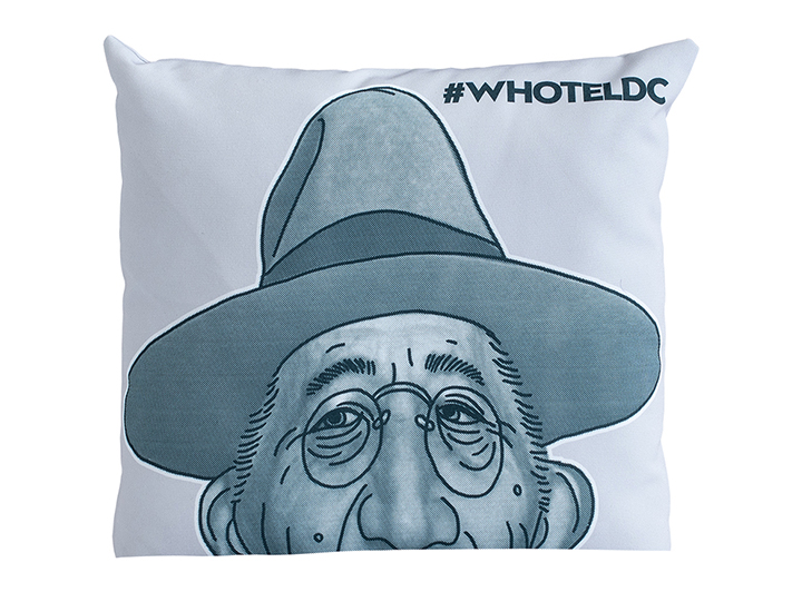 W Washington Franklin D Roosevelt Pillow