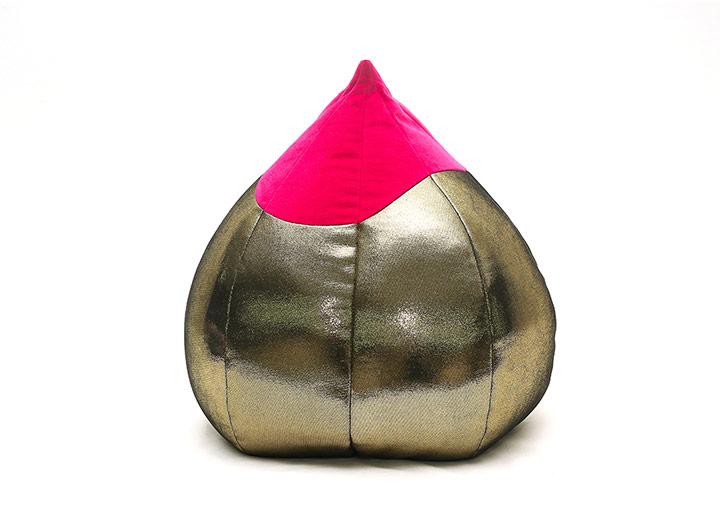 W Xi'an Golden Peach Pillow - Red